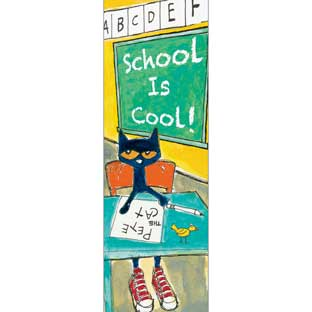 Pete The Cat® School Is Cool Bookmarks - 36 bookmarks