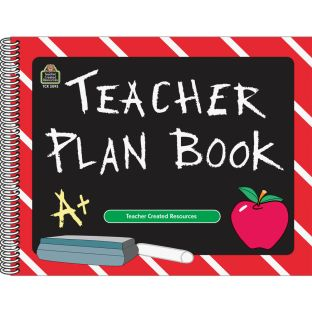 Chalkboard Teacher Plan Book - 1 book