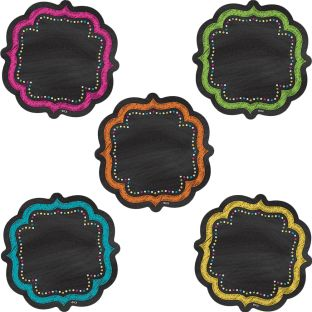 Chalkboard Brights Accents - 36 accents