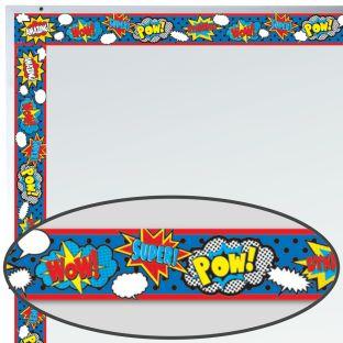 Superhero Magnetic Border - 1 magnetic border