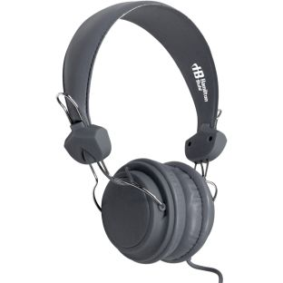 Headset With In-Line Mic - Gray