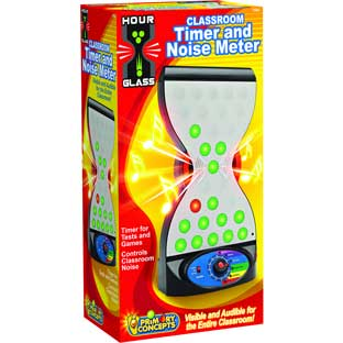Classroom Timer/Noise Meter - 1 timer/noise detector