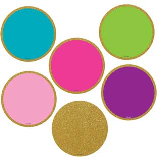 "Confetti Colorful Circles Mini 2"" Accents"