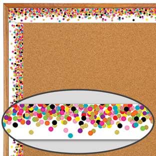 Confetti Straight Border Trim - 1 border trim