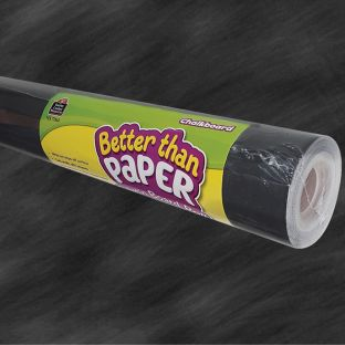Better Than Paper Bulletin Board Rolls - Chalkboard - 1 roll