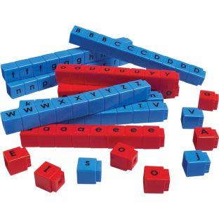 Unifix Letter Cubes - CVC - 90 cubes