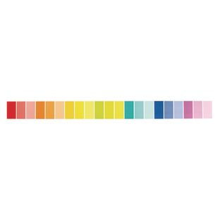 Painted Palette Rainbow Paint Chip Border Trim - 1 border trim