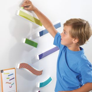 Tumble Trax Magnetic Marble Run Game