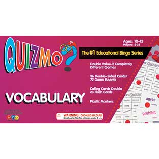 QUIZMO® Vocabulary Game - 1 game