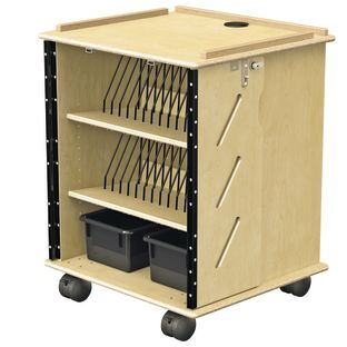 Jonti-Craft® Laptop And Tablet Storage Cart - 1 cart