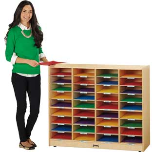 Jonti-Craft® Mobile Mailbox Organizer - 1 organizer
