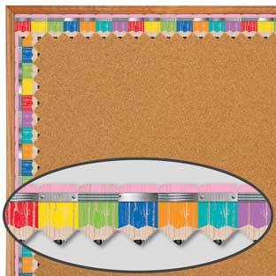 Upcycle Pencils Border Trim