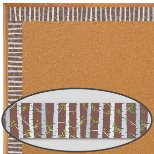 Trees Woodland Friends Border Trim - 1 border trim