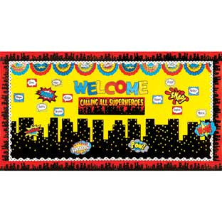 Calling All Superheroes Decor Kit - 1 multi-item kit