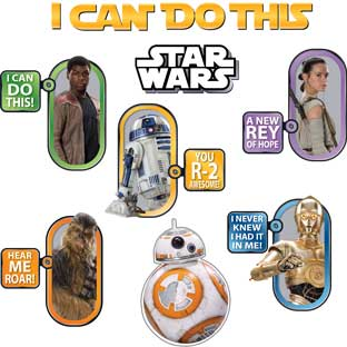 Star Wars™ We Can Do This Bulletin Board Kit