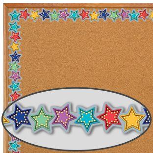 Marquee Stars Diecut Border Trim - 1 border trim