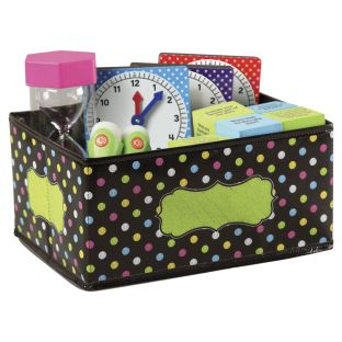 Chalkboard Brights Small Storage Bin