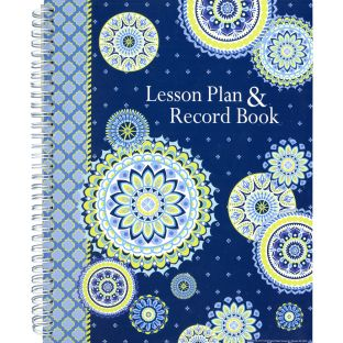 Blue Harmony Class Lesson Plan Book - 1 book