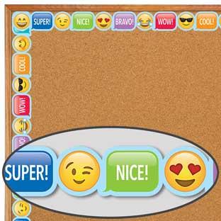 Emoji Fun Emoji Rewards Border Trim