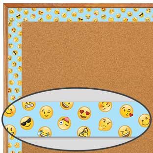 Emoji Fun Mini Emojis Border Trim