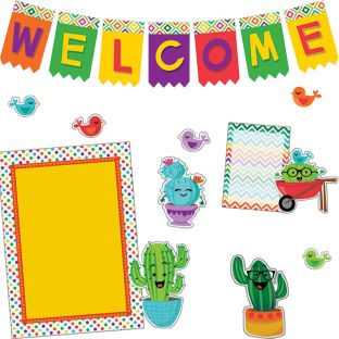 A Sharp Bunch Welcome Bulletin Board Kit