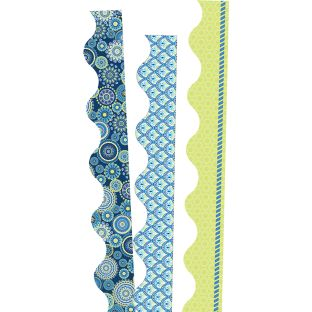 Blue Harmony Deco Trim Bundle - 3 sets of border trim
