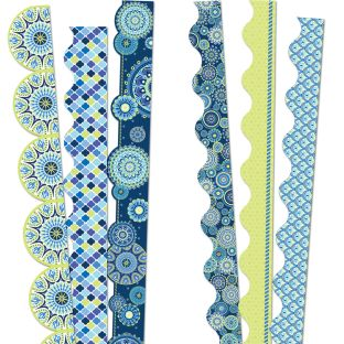 Blue Harmony Complete Deco Trim Bundle - 6 sets of border trim