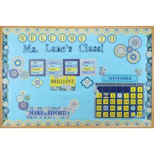 Blue Harmony Classroom Décor Collection - 1 multi-item kit