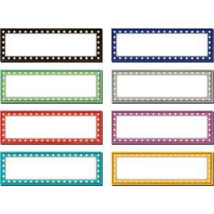 Marquee Magnetic Labels - 20 labels