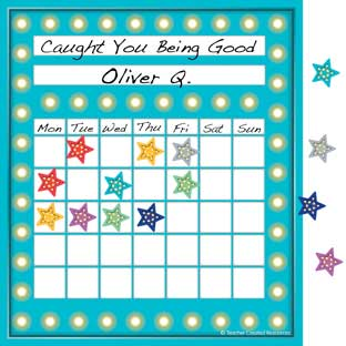 Marquee Incentive Charts With Mini Stickers