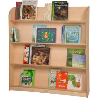 Single-Sided Library Shelving