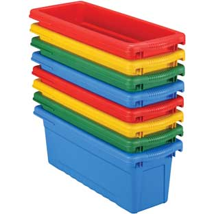 Small Sturdy Tubs, 4 Colors