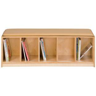 Jonti-Craft® 5-Section Bench Locker - 1 unit