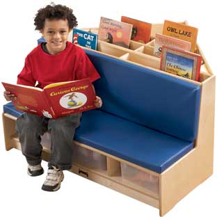 Jonti-Craft® Corner Classroom Library Nook