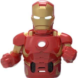 Ozobot Evo Iron Man Action Skin