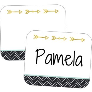 Aim High Name Tag Labels - 80 name tags