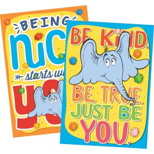 Dr. Seuss Horton Hears A Who Classroom Kindness Posters