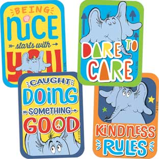 Horton Hears A Who™ Assorted Motivational Stickers - 72 Stickers, 9 designs