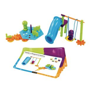 STEM Engineering And Design Kit - 94 pieces, 10 cards