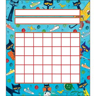Pete The Cat Student Incentive Charts - 36 incentive charts