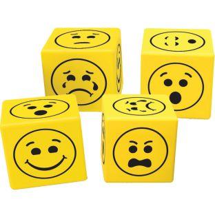 Soft Foam Emoji Dice