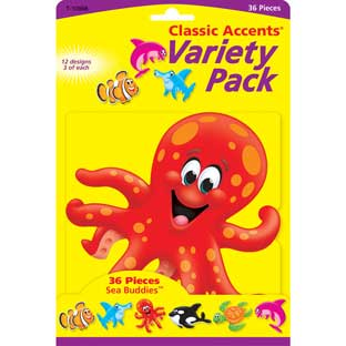 Sea Buddies Variety Pack Classic Accents
