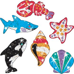 Deep Sea Dazzlers Sparkle Stickers®
