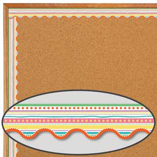 Up And Away Star Fair Scalloped Border