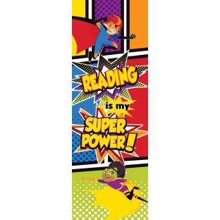 Super Power Bookmarks - 30 bookmarks