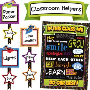 Super Power Classroom Management Bulletin Board Set
