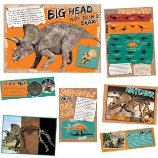 Smithsonian Amazing Dinosaurs Amazing Diversity Of Dinosaurs Bulletin Board Set