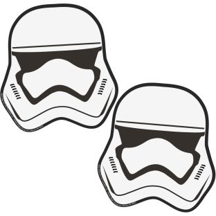 Star Wars Storm Troopers Paper Cut-Outs