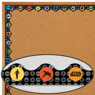 Star Wars Storm Troopers Scalloped Deco Trim - 37 feet of border trim