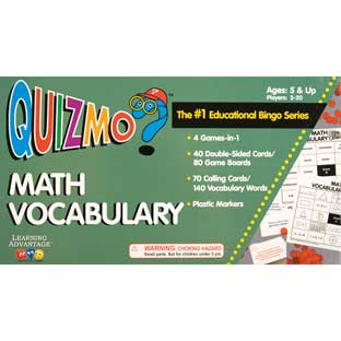 Quizmo Math Vocabulary - 1 game